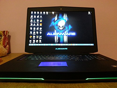 "Alienware 18 18.4"" Overclocked i7 4930MX 4.3GHz NVIDIA SLI 780M 16GB 1600MHz RAM 256GB SSD 750GB HDD DVDRW Windows 8"