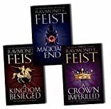 Raymond E. Feist Raymond E. Feist Chaoswar Saga 3 Books Collection Pack Set (A Crown Imperilled, Kingdom Besieged, Magician''s End)