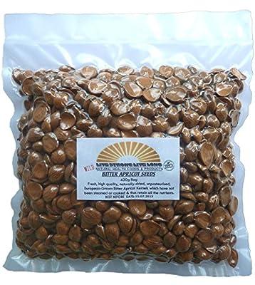 Apricot Seeds Raw 100% Organic (Kernels) 430g Bag (7oz)