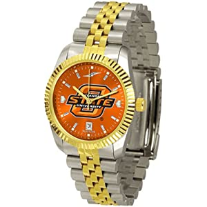 Oklahoma State Cowboys NCAA AnoChrome Executive Mens Watch by SunTime