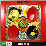 Angry Bird Toss Black & Yellow Birds