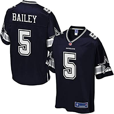 Men's Dan Bailey #5 Navy Blue Jerseys