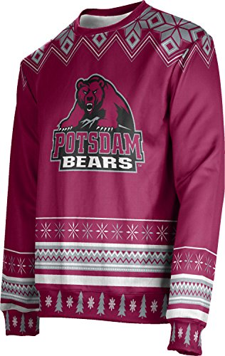 Adult State University of New York at Potsdam Ugly Holiday Festive Sweater