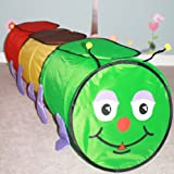 Extra Large Caterpillar Tunnel 1.8 meters - With Free Bag - Extra sun protection panels on top
