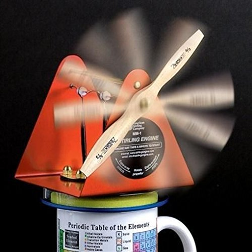 Coffee Cup Stirling Engine - Sterling Engine Kit (Coffee Engine compare prices)