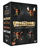 Pirates des Cara�bes - La quadrilogie : La mal�diction du Black Pearl + Le secret du coffre maudit + Jusqu'au bout du monde + La fontaine de Jouvence - Coffret 4 DVD