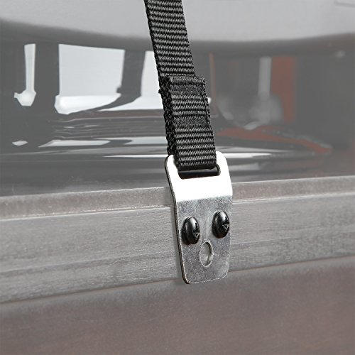 Safety Baby Metal Furniture / TV Straps - Bolts and Hardware Included (2 Pack)