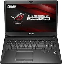 Asus ROG G750JZ-T4096H Notebook, Display 17.3 Pollici Full HD, Processore Intel Core i7-4710HQ, RAM 16 GB, HDD 750 GB 7.200rpm, Nero
