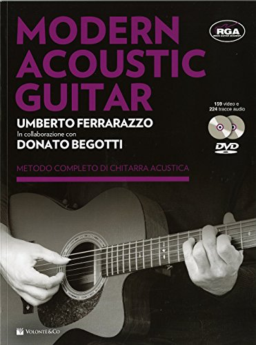 Modern acoustic guitar. Con 2 DVD
