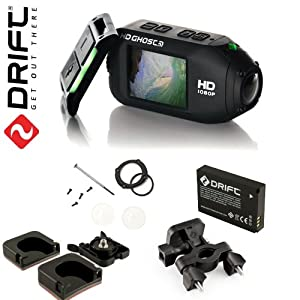 Drift HD GHOST Wi-Fi Full 1080p Wearable Camera with Built-In 2