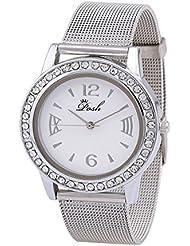 Posh Designer Round White Dial Analog Wrist Watch For Girls And Women