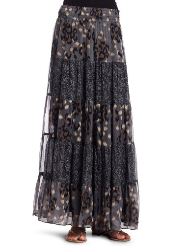 Ella Moss Womens Romany Long Skirt