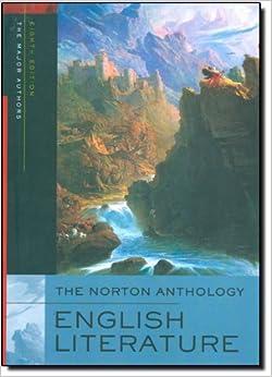 norton anthology english literature 8th edition