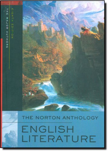 The Norton Anthology of English Literature (Single-Volume...