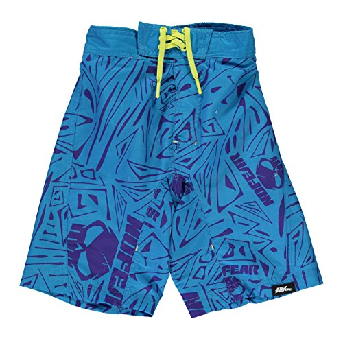 No Fear -  Pantaloncini - ragazzo Blue/Lime Large