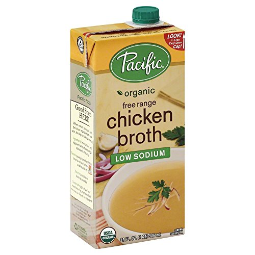 Pacific Natural Foods Organic Chicken Broth, Low Sodium