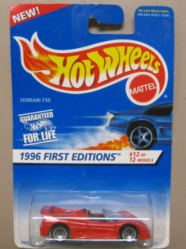 Hot Wheels Ferrari F50 - 1996 1st Editions #12 of 12 Cars Collector #377 - 1