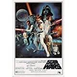 (24x36) Star Wars: A New Hope Vintage Movie Poster Print