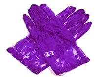 Short Lace Glove - Purple