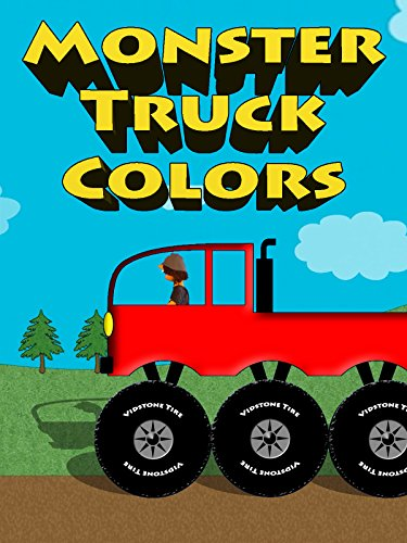 Monster Truck Colors - Colors For Kids