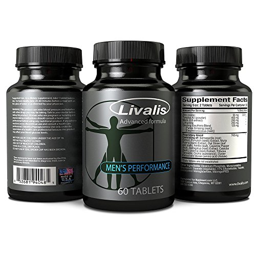 Livalis Male Enhancement Pills Get Bigger, Longer and Harder Helps Increase Blood Flow, Erection Quality and Sexual Performance Made in the USA Guaranteed Results