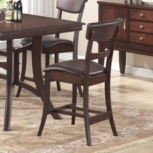 Set of 2 Cordova Counter Height Non-Swivel Stools