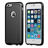 iPhone 6 Case, LUVVITT® ULTRA ARMOR iPhone 6 Case / Best iPhone 6 Case for 4.7 inch Screen Air | Double Layer Shock Absorbing Black iPhone 6 Case Cover (Does NOT fit iPhone 5 5S 5C 4 4s or iPhone 6 Plus 5.5 inch screen) - Black