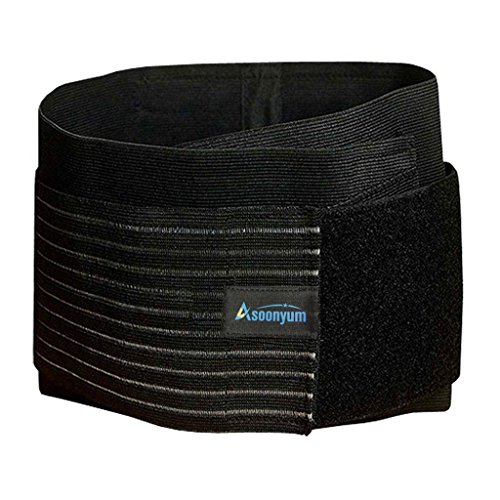 Stabilizer Lumbar Lower Back Brace and Support Helps Women Men Reduce Sport Injury, Spine Twisting, Pain Relief Dual Adjustable Straps, Breathable Mesh Panels by ASOONYUM (Back Brace Tens Unit compare prices)