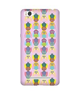 Stripes And Elephant Print-23 Xiaomi Mi 4i Case