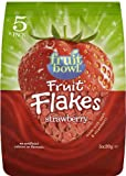 Fruitbowl Strawberry Fruit Flakes Multi-Packs 20 g (Pack of 6, Total 30 Bags)