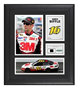Greg Biffle Framed 15