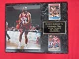 Charles Barkley Philadelphia 76ers 2 Card Collector Plaque w/8x10 Photo at Amazon.com