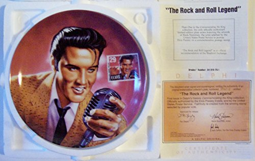 Elvis: Commemorating the King Plate