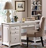 Essex Executive Desk, 1-DOOR&4-DRAWER, WHITE