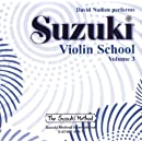 Suzuki Violin School, Volume 3 (CD) (Suzuki Method Core Materials)