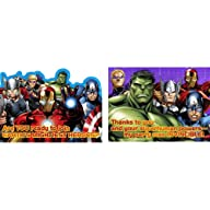 Avengers Assemble NEW Birthday Party Invitations & Thank You (8ea)