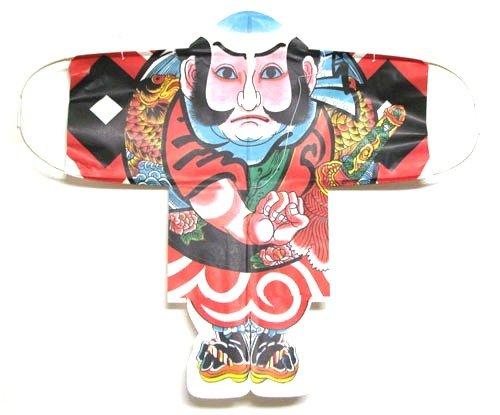日本製 日本の伝統凧 伝統の和凧 手つくり日本凧の会(博物館)推奨品  凧 糸・シッポ付き 奴凧 やっこ凧(小)