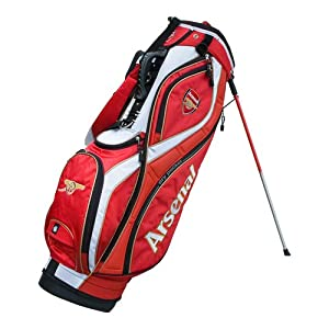 Arsenal FC Stand Golf Bag - Red/White/Gold
