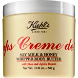 Kiehl's Creme de Corps Soy Milk & Honey Whipped Body Butter 12oz (360ml)