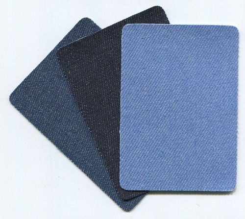 デニム補修布 3色セット×3組