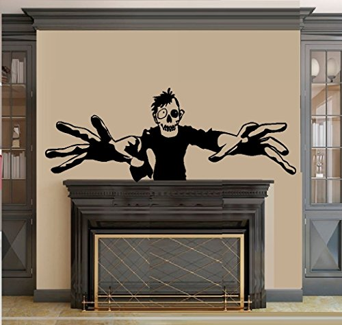 SCARY MONSTER ~ HALLOWEEN: WALL OR WINDOW DECAL, 13