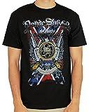 Panic Switch Army Men's Guns T Shirt Black