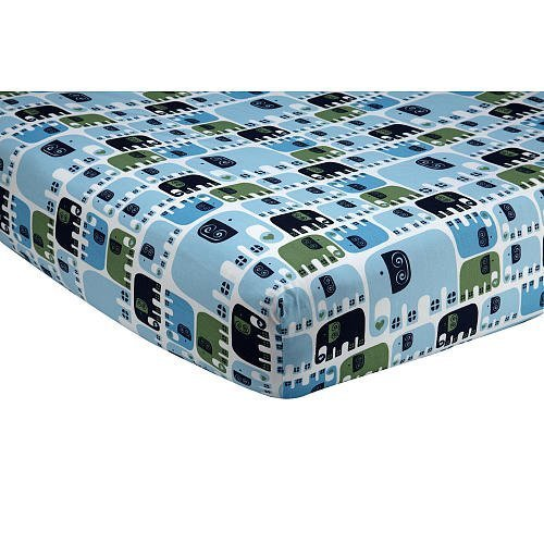 happy-chic-baby-by-jonathan-adler-charlie-elephant-printed-crib-sheet-by-crown-crafts-infant-product