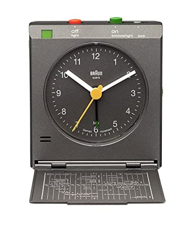 Braun Reloj Despertador BNC005GYGY