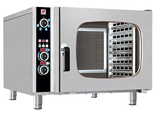 North Pro Gas FCN 60 Electric Convection/Steam Oven for 6x GN 1/1 - LxWxH: 985x940x760mm (400V-3N-AC-50Hz) (Made in Greece)