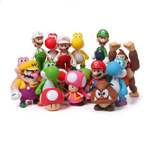 Waltzmart Super Mario Bros Mario Model Doll All Set