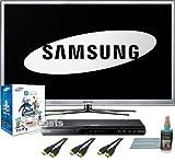 Samsung PN64D8000 64-Inch 1080p 600Hz 3D PLASMA HDTV 3D Bundle with PN64D80 ....
