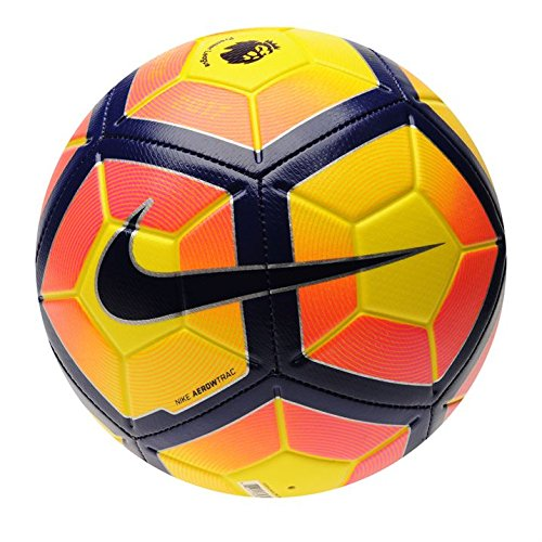 Nike Strike Premier League Calcio 20162017, Yellow/Purple, Misura 4