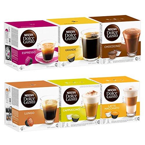 Nescafé Dolce Gusto The Classics Set, 6 X 16 Capsules front-37048
