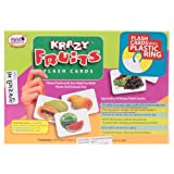 Krazy Fruits - Gujarati Flash Cards With Ring
